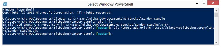 Github for Windows connected to Bitbucket – Candor Developer