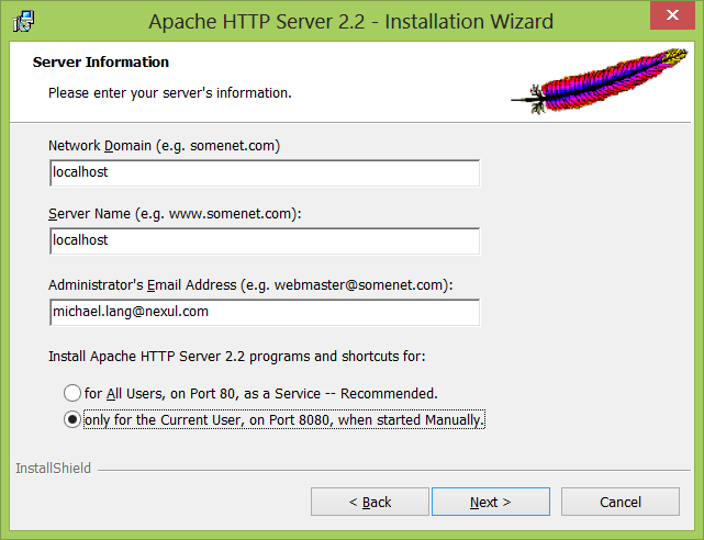 Apache http server 2 2 free download for windows