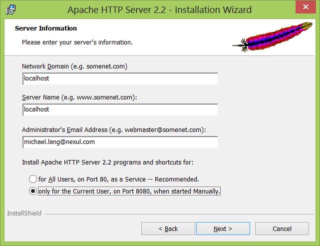 Apache-Install-01-ServerInformation