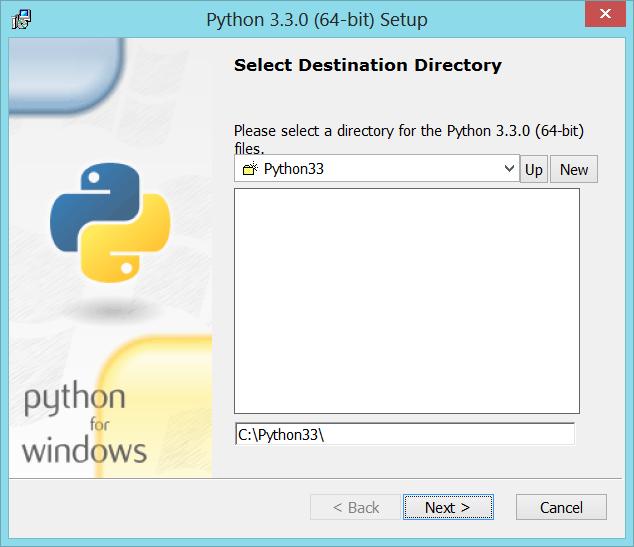 Python-Install-01-Directory