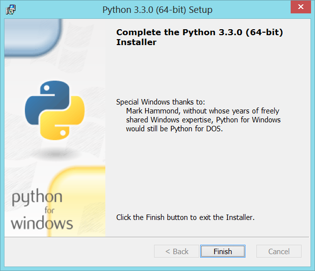 Python-Install-03-Done