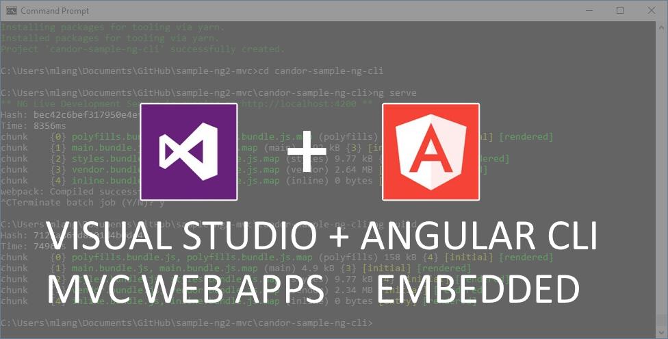 How to use Angular CLI with Visual Studio 2017